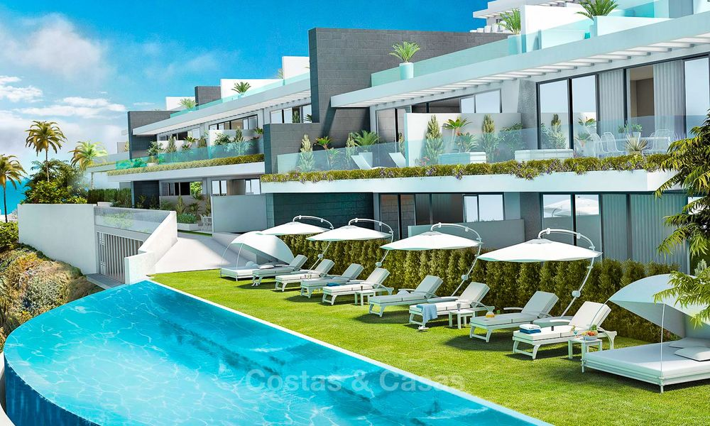 Beautiful new luxury apartments for sale with stunning sea views, walking distance beach - Benalmadena, Costa del Sol 9210