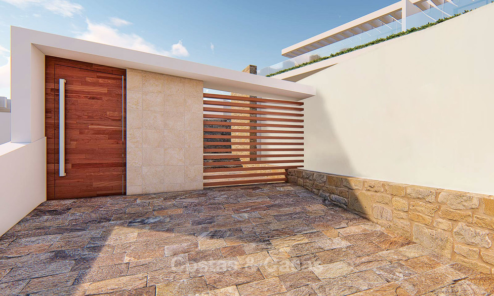 Beautiful new luxury apartments for sale with stunning sea views, walking distance beach - Benalmadena, Costa del Sol 9211