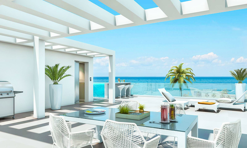 Beautiful new luxury apartments for sale with stunning sea views, walking distance beach - Benalmadena, Costa del Sol 9214