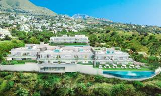 Beautiful new luxury apartments for sale with stunning sea views, walking distance beach - Benalmadena, Costa del Sol 9215