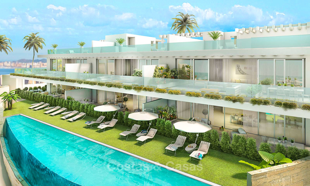 Beautiful new luxury apartments for sale with stunning sea views, walking distance beach - Benalmadena, Costa del Sol 9216