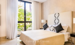 Posh modern luxury apartment for sale in a prestigious residential complex in Sierra Blanca, Golden Mile, Marbella 8765