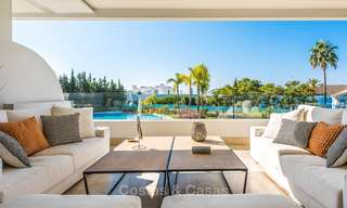 Posh modern luxury apartment for sale in a prestigious residential complex in Sierra Blanca, Golden Mile, Marbella 8781