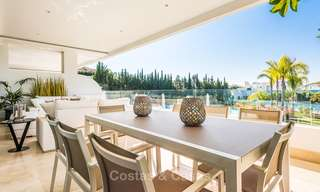 Posh modern luxury apartment for sale in a prestigious residential complex in Sierra Blanca, Golden Mile, Marbella 8782