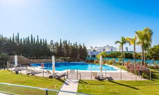 Posh modern luxury apartment for sale in a prestigious residential complex in Sierra Blanca, Golden Mile, Marbella 8784