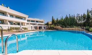 Posh modern luxury apartment for sale in a prestigious residential complex in Sierra Blanca, Golden Mile, Marbella 8787