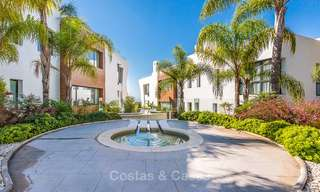 Posh modern luxury apartment for sale in a prestigious residential complex in Sierra Blanca, Golden Mile, Marbella 8788
