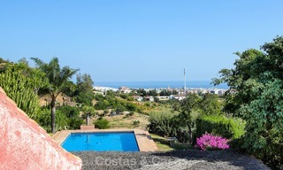 Well located and attractively priced villa - finca with sea and mountain views for sale, Estepona, Costa del Sol 8685