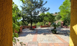 Well located and attractively priced villa - finca with sea and mountain views for sale, Estepona, Costa del Sol 8686