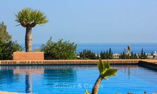 Well located and attractively priced villa - finca with sea and mountain views for sale, Estepona, Costa del Sol 8687
