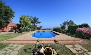 Well located and attractively priced villa - finca with sea and mountain views for sale, Estepona, Costa del Sol 8688