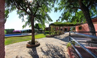 Well located and attractively priced villa - finca with sea and mountain views for sale, Estepona, Costa del Sol 8699