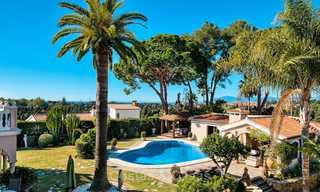 Cosy and luxurious traditional-style villa with sea views for sale, with guest house, ready to move in - Elviria, Marbella 8802