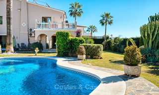 Cosy and luxurious traditional-style villa with sea views for sale, with guest house, ready to move in - Elviria, Marbella 8809
