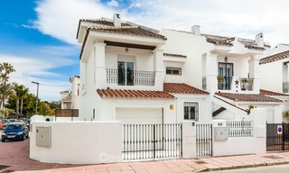 Ideal renovated family semi-detached house for sale, located in Nueva Andalucia, Marbella, at walking distance to Puerto Banus 8705
