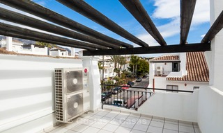 Ideal renovated family semi-detached house for sale, located in Nueva Andalucia, Marbella, at walking distance to Puerto Banus 8715