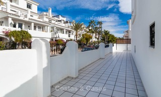 Ideal renovated family semi-detached house for sale, located in Nueva Andalucia, Marbella, at walking distance to Puerto Banus 8727