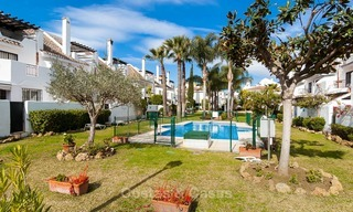 Ideal renovated family semi-detached house for sale, located in Nueva Andalucia, Marbella, at walking distance to Puerto Banus 8729