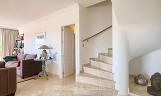 Stunning penthouse apartment for sale in a luxury complex, front line golf with sea views - Marbella - Estepona 8877