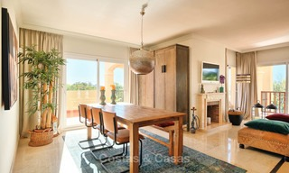 Stunning penthouse apartment for sale in a luxury complex, front line golf with sea views - Marbella - Estepona 8878