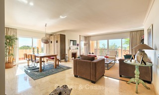 Stunning penthouse apartment for sale in a luxury complex, front line golf with sea views - Marbella - Estepona 8882