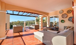 Stunning penthouse apartment for sale in a luxury complex, front line golf with sea views - Marbella - Estepona 8891