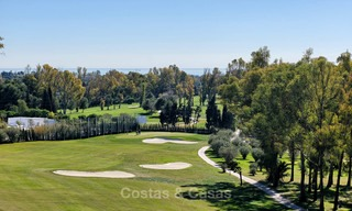 Stunning penthouse apartment for sale in a luxury complex, front line golf with sea views - Marbella - Estepona 8902
