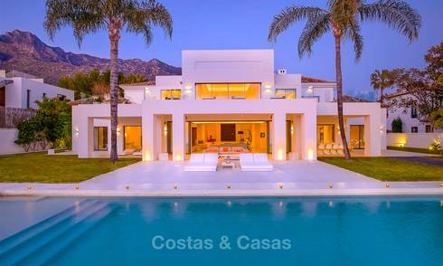 Truly stunning contemporary luxury villa with sea views for sale in the exclusive Sierra Blanca district - Golden Mile, Marbella 8903