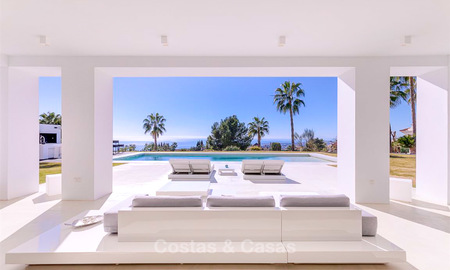 Truly stunning contemporary luxury villa with sea views for sale in the exclusive Sierra Blanca district - Golden Mile, Marbella 8909