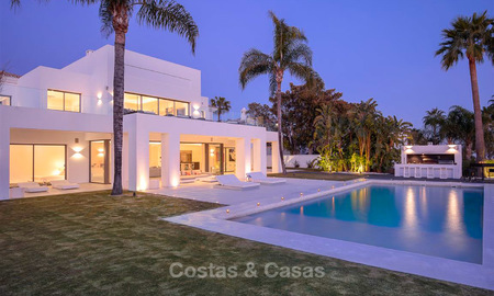 Truly stunning contemporary luxury villa with sea views for sale in the exclusive Sierra Blanca district - Golden Mile, Marbella 8953