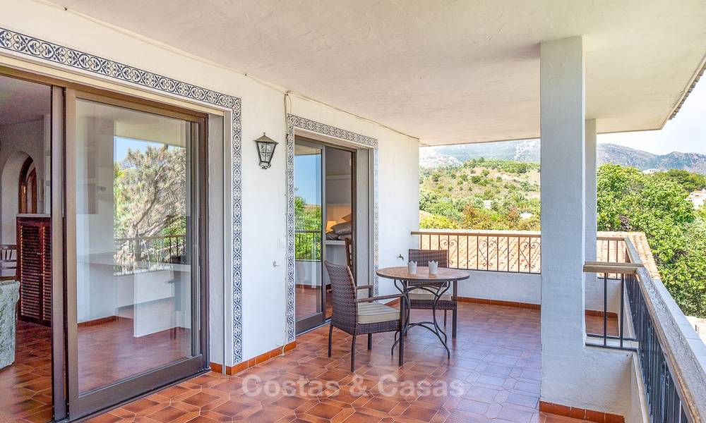 Unique offering! Beautiful countryside estate of 5 villas on a huge plot for sale, with stunning sea views - Mijas, Costa del Sol 9015