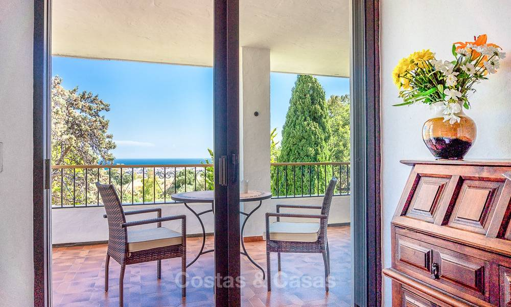 Unique offering! Beautiful countryside estate of 5 villas on a huge plot for sale, with stunning sea views - Mijas, Costa del Sol 9019