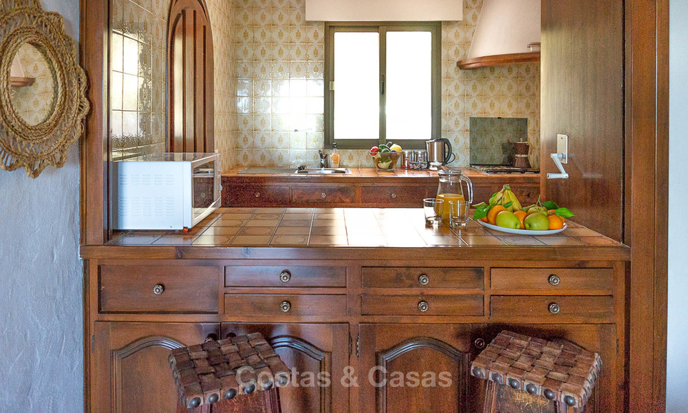 Unique offering! Beautiful countryside estate of 5 villas on a huge plot for sale, with stunning sea views - Mijas, Costa del Sol 9025