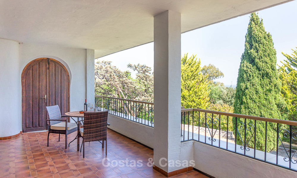 Unique offering! Beautiful countryside estate of 5 villas on a huge plot for sale, with stunning sea views - Mijas, Costa del Sol 9028