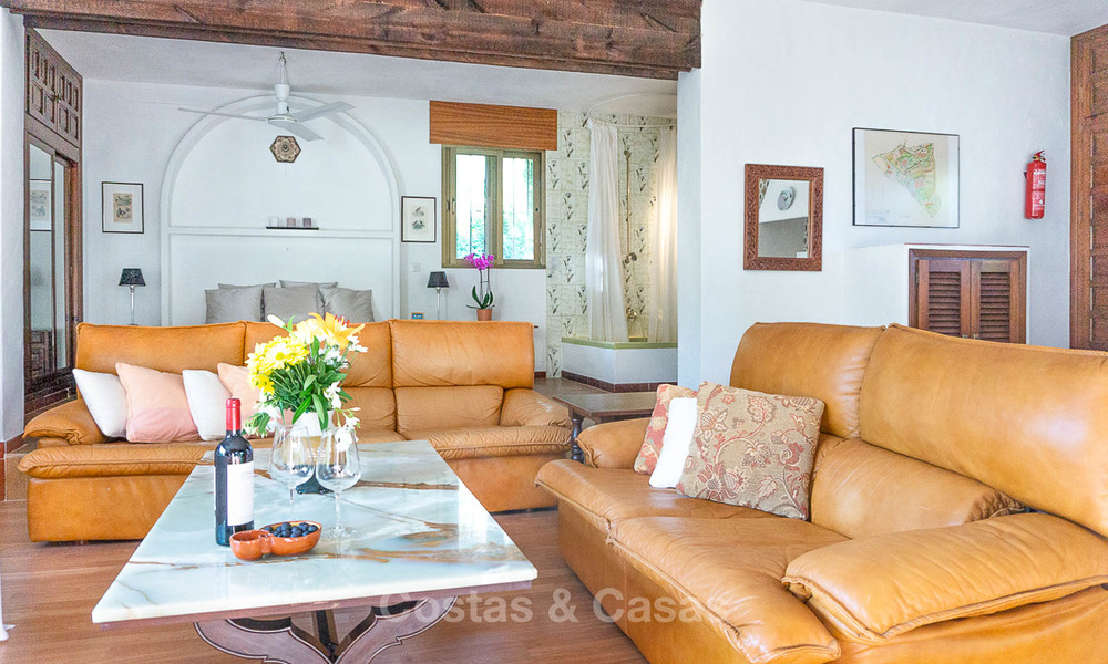 Unique offering! Beautiful countryside estate of 5 villas on a huge plot for sale, with stunning sea views - Mijas, Costa del Sol 9030