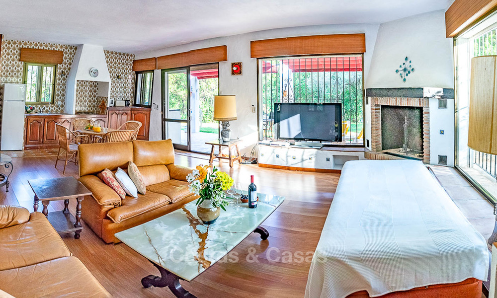 Unique offering! Beautiful countryside estate of 5 villas on a huge plot for sale, with stunning sea views - Mijas, Costa del Sol 9034