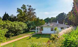Unique offering! Beautiful countryside estate of 5 villas on a huge plot for sale, with stunning sea views - Mijas, Costa del Sol 9037