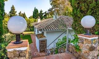 Unique offering! Beautiful countryside estate of 5 villas on a huge plot for sale, with stunning sea views - Mijas, Costa del Sol 9038