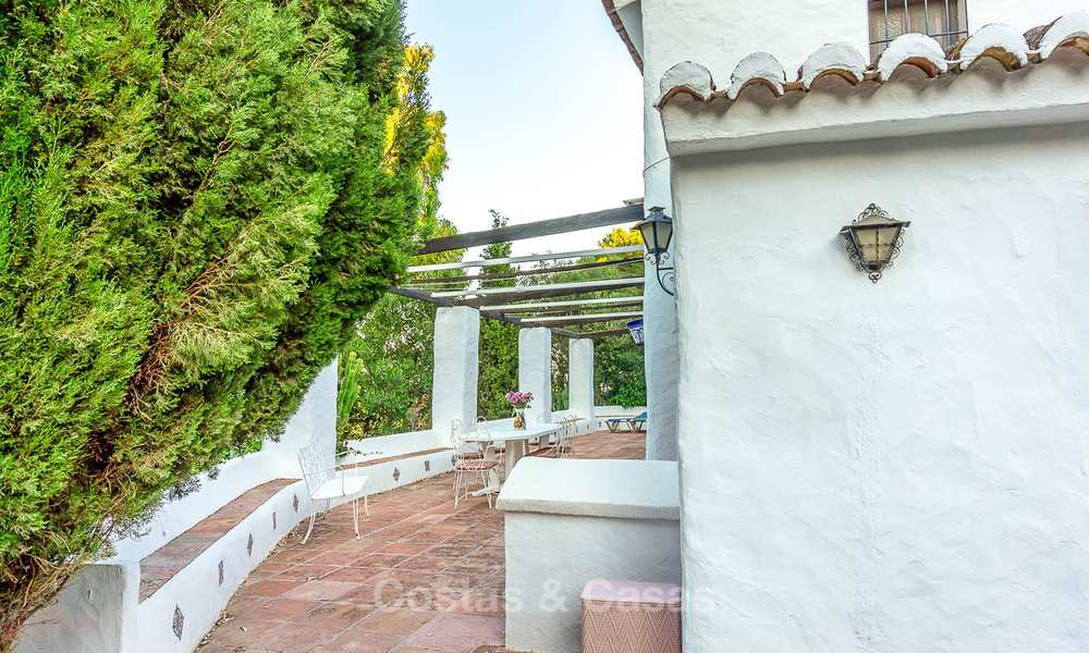 Unique offering! Beautiful countryside estate of 5 villas on a huge plot for sale, with stunning sea views - Mijas, Costa del Sol 9039