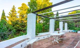 Unique offering! Beautiful countryside estate of 5 villas on a huge plot for sale, with stunning sea views - Mijas, Costa del Sol 9040