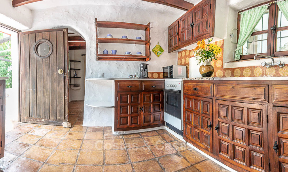 Unique offering! Beautiful countryside estate of 5 villas on a huge plot for sale, with stunning sea views - Mijas, Costa del Sol 9042