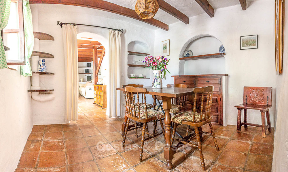 Unique offering! Beautiful countryside estate of 5 villas on a huge plot for sale, with stunning sea views - Mijas, Costa del Sol 9043