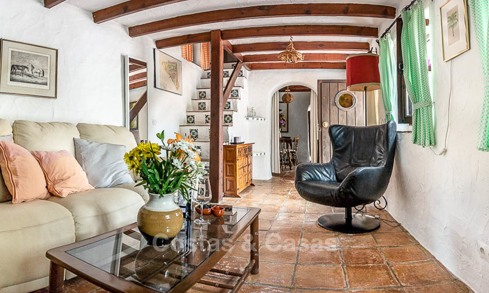 Unique offering! Beautiful countryside estate of 5 villas on a huge plot for sale, with stunning sea views - Mijas, Costa del Sol 9044