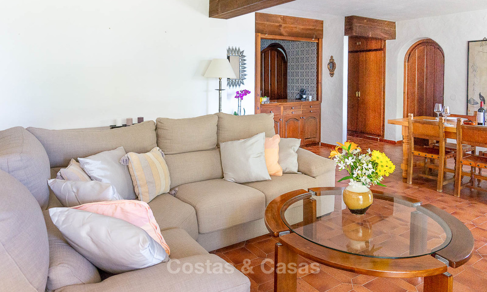 Unique offering! Beautiful countryside estate of 5 villas on a huge plot for sale, with stunning sea views - Mijas, Costa del Sol 9061