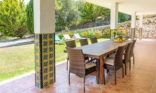 Unique offering! Beautiful countryside estate of 5 villas on a huge plot for sale, with stunning sea views - Mijas, Costa del Sol 9064