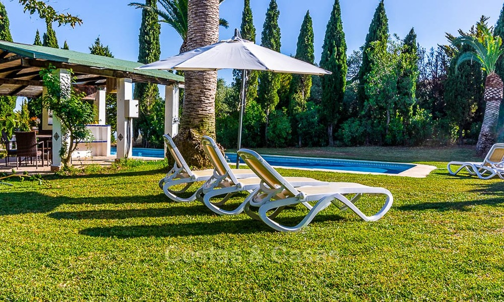 Unique offering! Beautiful countryside estate of 5 villas on a huge plot for sale, with stunning sea views - Mijas, Costa del Sol 9067