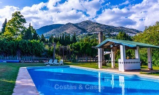 Unique offering! Beautiful countryside estate of 5 villas on a huge plot for sale, with stunning sea views - Mijas, Costa del Sol 9069