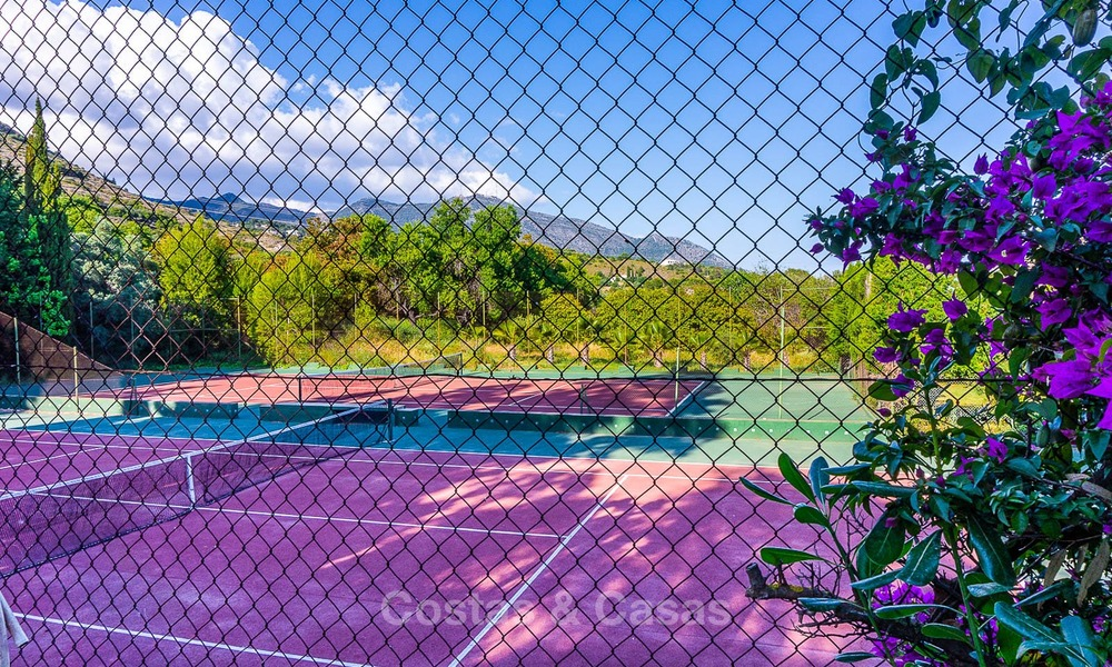 Unique offering! Beautiful countryside estate of 5 villas on a huge plot for sale, with stunning sea views - Mijas, Costa del Sol 9071