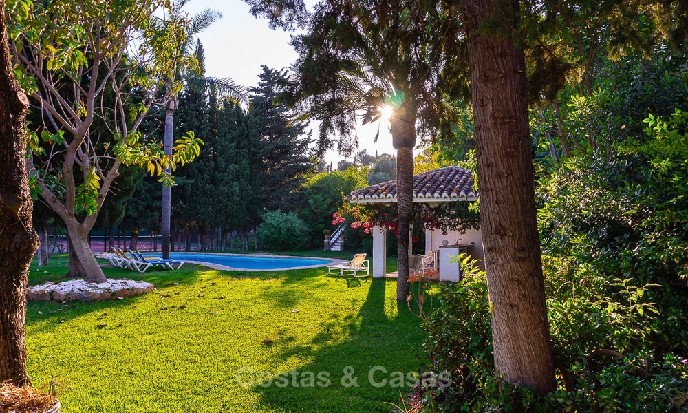 Unique offering! Beautiful countryside estate of 5 villas on a huge plot for sale, with stunning sea views - Mijas, Costa del Sol 9074