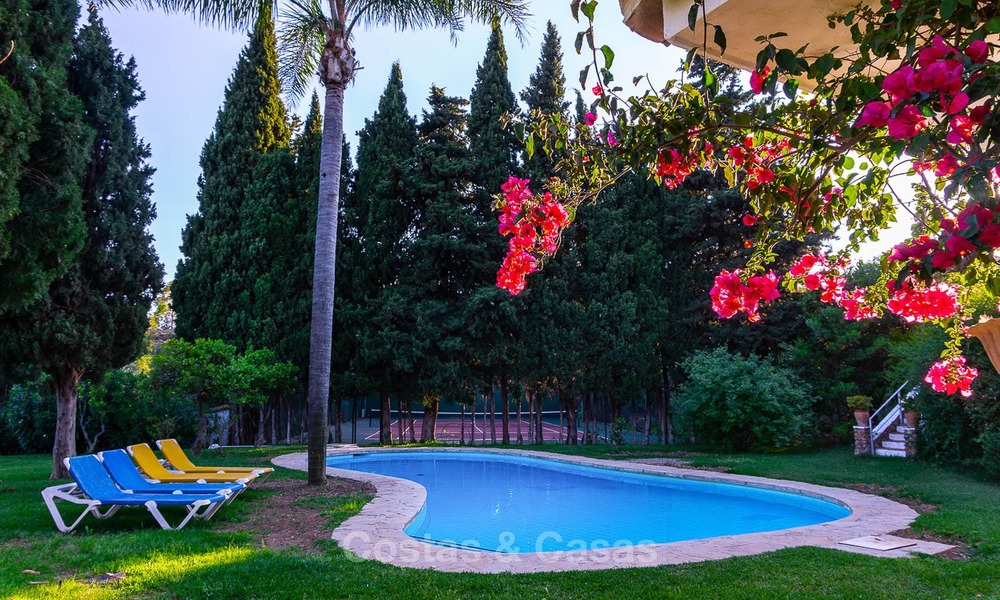 Unique offering! Beautiful countryside estate of 5 villas on a huge plot for sale, with stunning sea views - Mijas, Costa del Sol 9075